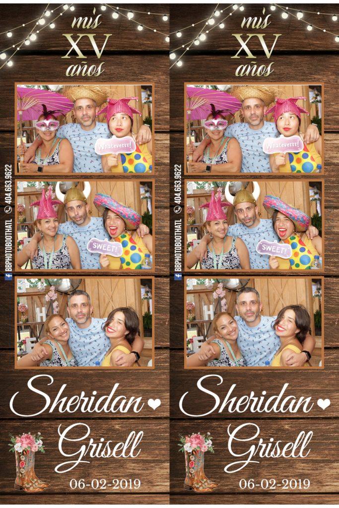 15 años Sheridan photobooth