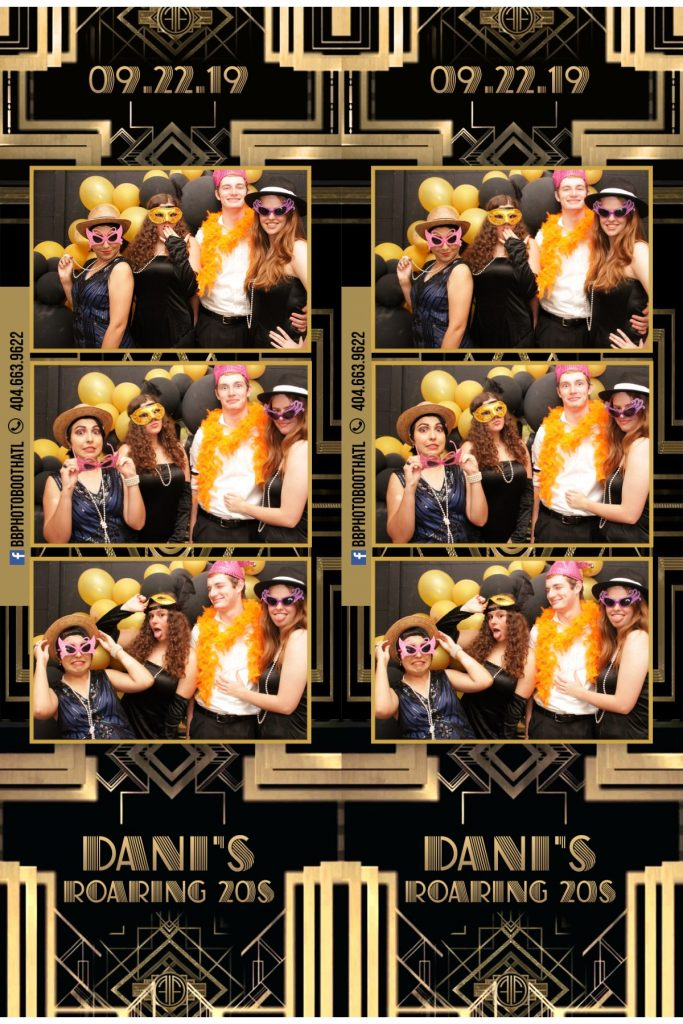 cumpleaños danis photobooth