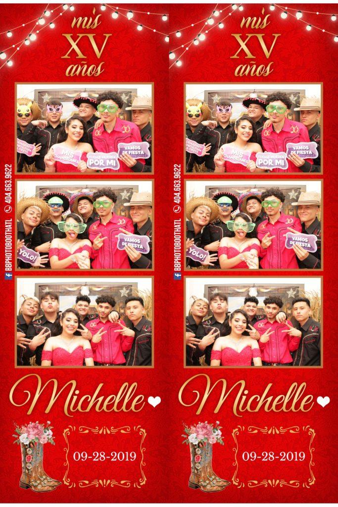 15 años michelle photobooth